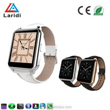 2015 New and popular gold and silver wrist smart sport watch F2 smartwatch for men and women use android and ios system phone