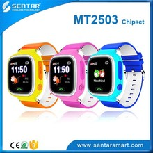 HK Fair new products kids watch GPS LBS wifi location for kids sos panic button watch
