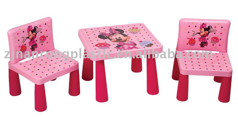 children plastic table and chairs set