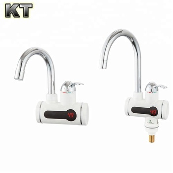 Digital Display Instant Hot Water Tap Electric Faucet