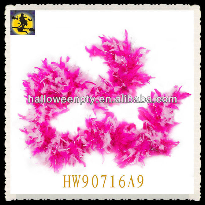 Fashion Long Rainbow Feather Boas Party Decoration