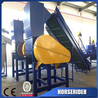 waste plastic pe pp film crusher/pvc pp pe eva film granulator crusher/waste plastic pe pp film recycling crusher