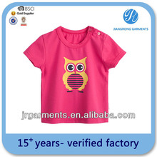 Baby Clothes Summer 100% Cotton Printed o-neck tshirts Wholesale