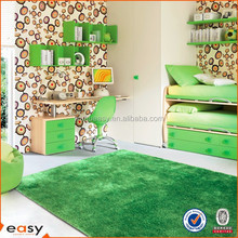 smooth and exclusive grass green plush carpet 2014