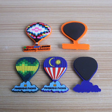 assorted custom hot air balloon shaped fridge magnets