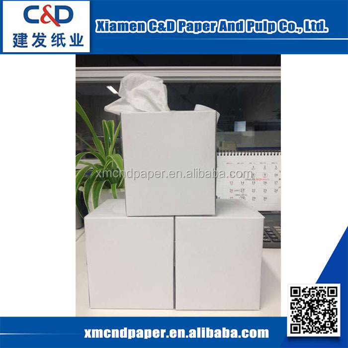 Hot Sale Soft Disposable Box Facial Tissue Customized Printed Facial Tissue Paper Napkins