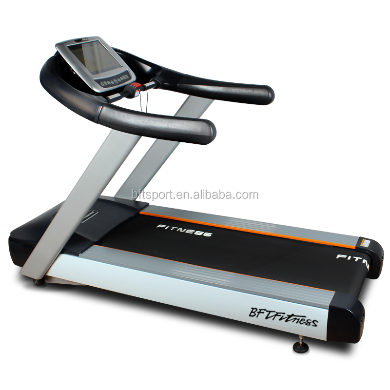 Buy cheap touch screen treadmill/commercial fitness running machine in gym <strong>equipment</strong> factory for sale/Electric treadmill