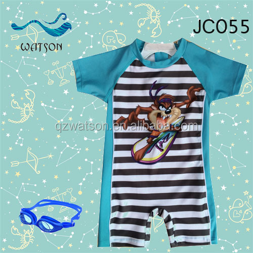 uv protect baby boy one pc swimwear beachwear