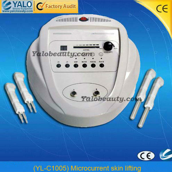 YL-C1005 body skin lifting tightening face lift microcurrent bio facial machine