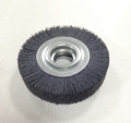 abrasive wheel nylon brushes for cleaning of rolling cylinders