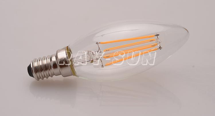 Dimmable Filament Candle LED Bulb