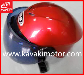 hot selling auto parts red standard safety helmet for adults