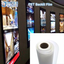 advertising backlit pet film semi