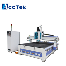 2000x4000mm large size plastic furniture making machine , woodworking cnc router with auto tool changer