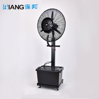 "Approved CE 26"" Industrial Stand Mist Fan With Centrifugal Technology 30"" Industrial Standing Air Cooling Fan"