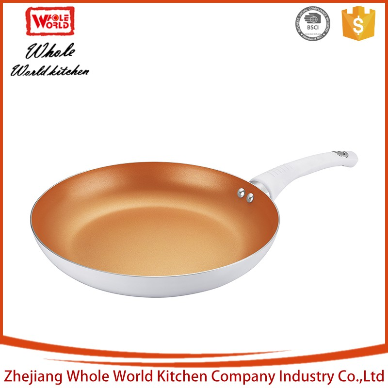 Delicate colorful aluminium gas cooker wok