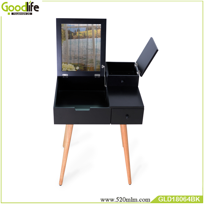 Modern dressing table side table for bedroom mirror for online wholesale shop