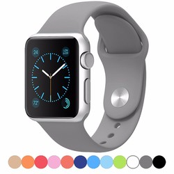 Replacement Silicone Band Strap For Apple Watch Wrist Band 38mm/42mm