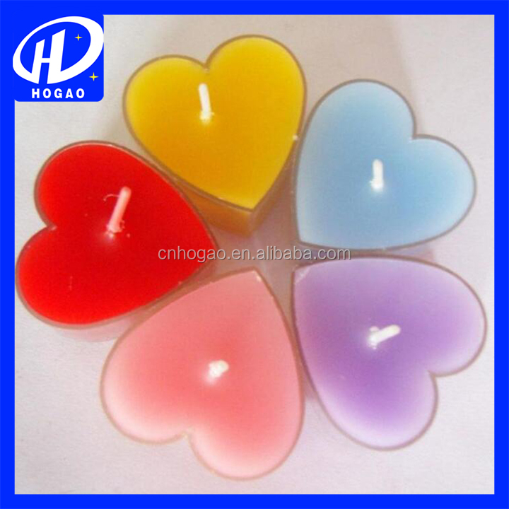 Heart Shaped Floating Candle for Wedding, Valentine's Day