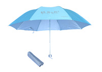 straight umbrella bright colored backpack double umbrella