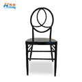wholesale black stacking metal chiavari phoenix chair for wedding event