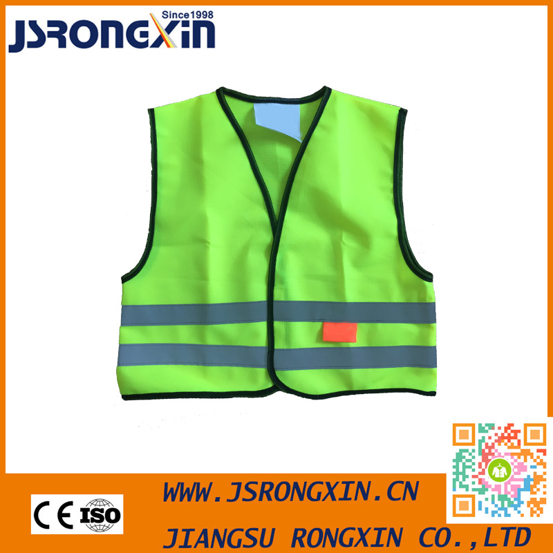 Mens Standard Size Printed Safety Vest