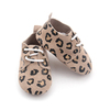 Wholesale Baby Boys Girls Crib Oxford Shoes Leopard Print Baby Shoes