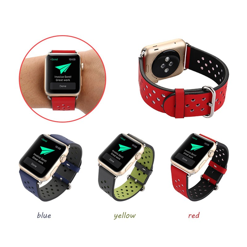 for Nike Style Leather Sport Watch Bands,for Apple Watch Sport Lether Watch Band