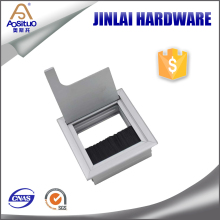 Office Furniture Tabletop cable wire box, table hole cover, tabletop square wire box