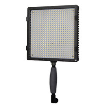 CN-576 Plastic Portable LED Video Studio Light Kit With Stand and Carrying Bag for Wedding Macro Film