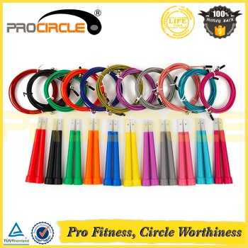 Colorful Adjustable Speed Gym Power Jump Rope
