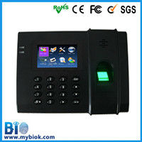Popular in market manufacturer thumb print time attendant machine (HF-T4)