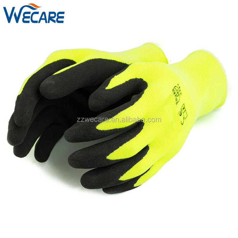 Lightweight Micro Sandy Latex Dipped Coating Construction Gardening Carpentry Safety Protection Gloves