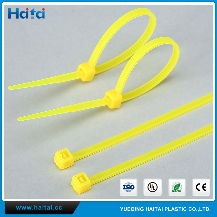 Haitai Provided Factory Produced High Quality Oil-Resisting Strap Band Nylon 66 Cable Tie