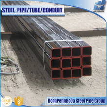 Promotion price q235 black erw steel pipe tupe