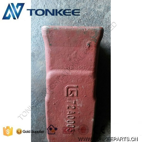 72A0005 LIUGONG bucket teeth point ZL50C bucket teeth point CLG856 bucket rock teeth