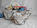 wire frame basket wire baskets iron basket for storage