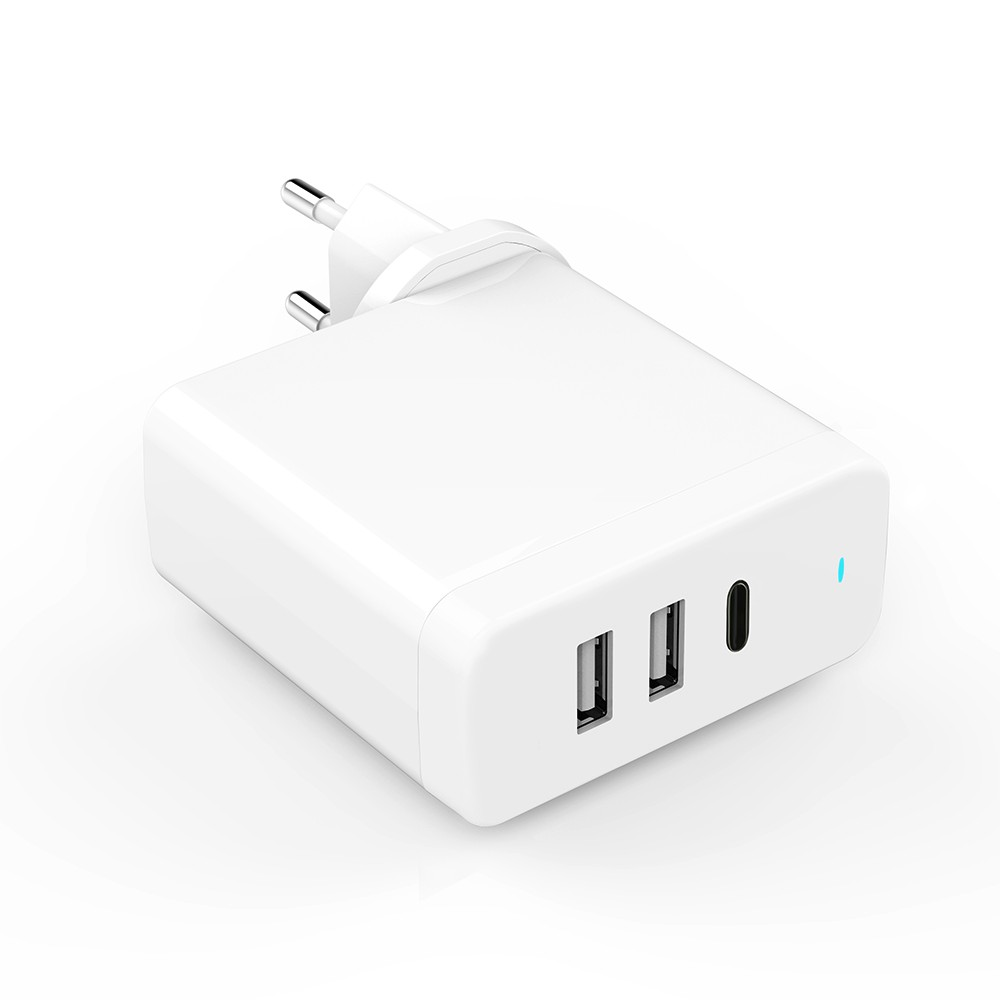 USB PD Charger 60W With TYPE C PD 3.0 & QC3.0 US/UK/EU Plug Available
