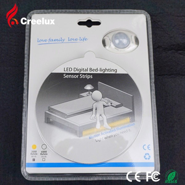 LED Bed Light Flexible Lighting with sensor Bright White Warm 3W 180LM