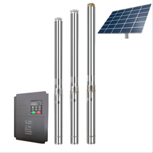high quality DC and AC solar water pump for irrigation system with 1-200 m3/h flow
