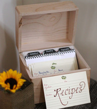 Wholesale double sides printing recipe <strong>card</strong> , kitchen divider print <strong>card</strong>