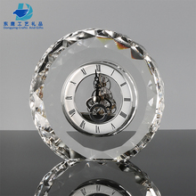 Unique Customized Crystal Gifts Large Table Clocks