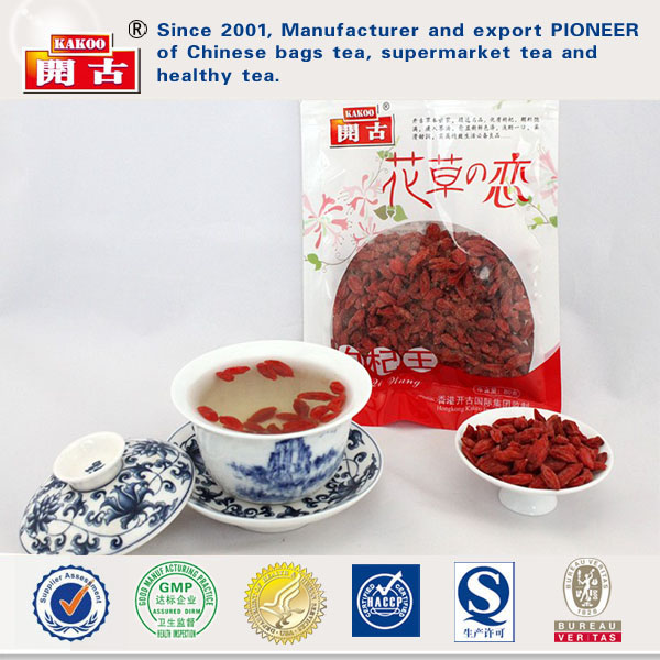Chinese High Quality Red Ningxia Goji Berries Organic Dried Fruit