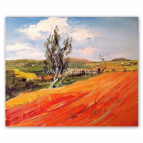 ROYIART Handmade Canvas Original Oil Painting for Collection