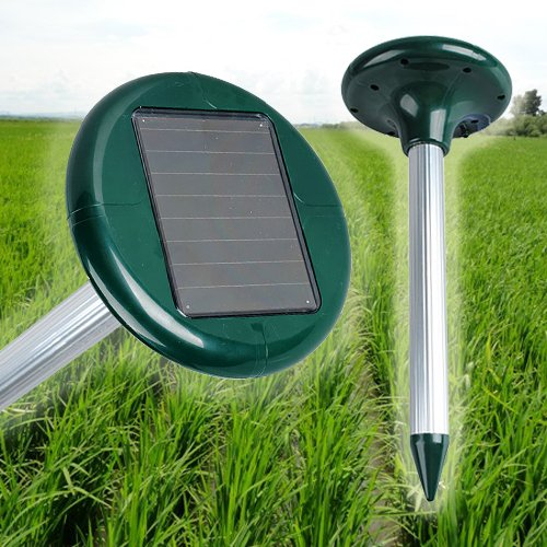 Eco-friendly solar power pest repellent ultrasonic mice repeller