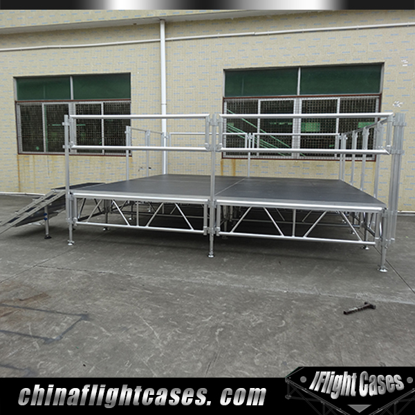 RK Portable Aluminum Truss Stage Platform Decoration Outdoor Concert Stage for Church & School