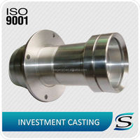 Precision Lost Wax CNC Machined Duplex Stainless Steel Investment Castings parts
