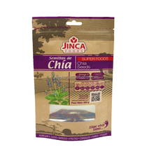 Food Packaging Pouch Chia Seed Packaging Bags Aluminum Foil Stand Up Resealable Plastic Doy Pack Bag with zipper