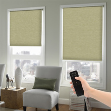 European style remote control electric blinds for windows