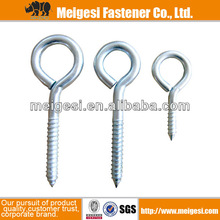 screw in cup hooks carbon steel zinc plated China manufacturer high quality good price cheaper factory supply